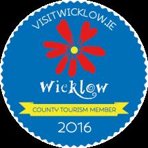 Wicklow Tourism Sticker